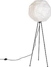 Skandinavische Papier Stehlampe weiß - Pepa Ball