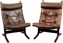 Skandinavische Vintage Siesta Sessel von Ingmar
