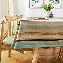 Skandinavischen Stil-stoff-tischdecke/Mediterranen Modernen Minimalistischen Tischdecke/Tischtuch-A 85x85cm(33x33inch)