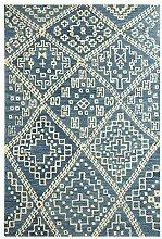 Skandinavischen Stil Zimmer Bankettsaal Schlafmatte/Sofa Couchtisch rechteckig Teppich-I 160x230cm(63x91inch)