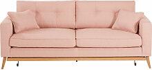 Skandinavisches Ausziehbares 3-Sitzer-Sofa,