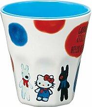 Skater GASPARD Hello Kitty Melamin-Becher, 270 ml,