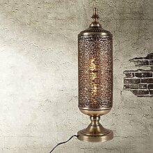 SKC LIGHTING Dekoration Tisch Lampe Bar Tischlampe Eisen Kunst Tischlampe -E27 * 1 ( Farbe : B )