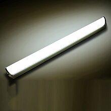 SKC LIGHTING Einfache moderne wasserdichte Anti-fog Badezimmer Badezimmer LED Spiegel Licht Spiegel Scheinwerfer ( Farbe : White light 6500k-55.1 cm (10 w) )
