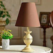 SKC LIGHTING Einfache Tischlampe Schlafzimmer Bedside Prinzessin Rural Hochzeit Retro Warm Dekoration ( Farbe : #2-S )