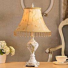 SKC LIGHTING Europäische - Stil Tischlampe Kreative Einfachheit Hirten Wohnzimmer Schlafzimmer Nachttisch Lampe Dekoration