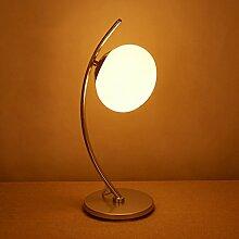 SKC LIGHTING Schlafzimmer-Nachttischlampen-kreative Art- und Weisewarme Wohnzimmer-Dekoration-Nachttischlampe einfach und modern