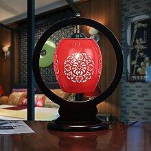 SKC LIGHTING Tischlampe Schlafzimmer Bedside Creative Klassische Wohnzimmer Beleuchtung Chinesisch Home Keramik Dekoration ( Farbe : #3 )
