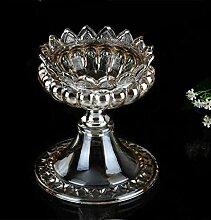 SKC LIGHTING ZXW europäischen neoklassischen Retro Luxus Kristallglas Aschenbecher Insert Vase Dekoration