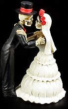 Skelett Brautpaar Figur - Endless Love - Geschenk