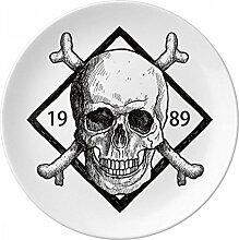 Skelett Pirat 1989Dekoration Muster Dekorative