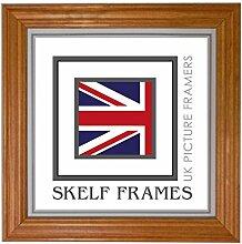 Skelf Frames Bilderrahmen, Holz, 500x 500,