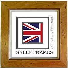 Skelf Frames Bilderrahmen, Holz, Kiefer Antik,