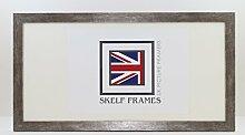 Skelf Frames Holz-Antik-Silber Panoramic
