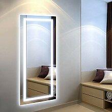 SKERITO Ganzkörper-Spiegel, LED, für Garderoben,
