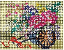 Skill Gallery (Perlen Bastelset) Blumenwagen G 664