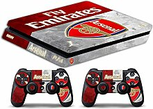 Skin Ps4 SLIM - Arsenal - limited edition DECAL