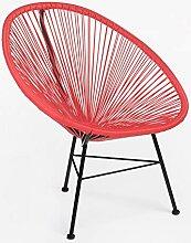 SKLUM Stuhl New Acapulco Rot Amapola (mehr Farben)