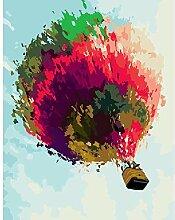 SKSK 5D Diamant Malerei gemalt Heißluftballon