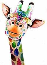 SKSK 5D Diamant Malerei Giraffe voller Diamant