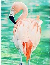 SKSK Flamingo Diamant malerei voller diamanten