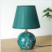 SKTE Keramik Modernes Schlafzimmer Nachttischlampe