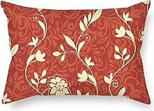 SkuGo Flower Cushion Covers ,best For Outdoor,relatives,indoor,father,relatives,him 20 X 30 Inches / 50 By 75 Cm(double Sides)