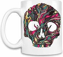 Skull Kaffee Becher