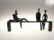 Skulptur, Dekoobjekt LEISURE Poly und Metall