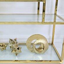 Skulptur Dillman Bloomsbury Market Farbe: Gold