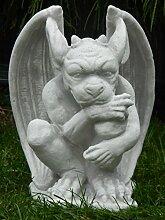 Skulptur Gartenskulptur Beton Figur Drache