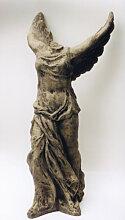Skulptur Nikola aus Steinguss (Nikola: Steinguss