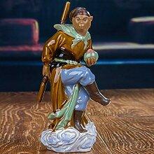 Skulptur Ornament Kunst Chinesische Keramik Figur