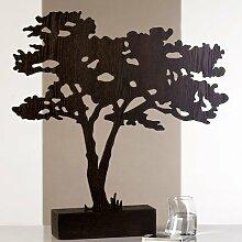 Skulptur Savannah MDF Baum Dekoration Afrika Schmuckständer