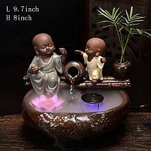 Skulpturen Buddha-brunnen,Kleine mönch