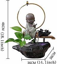 Skulpturen Desktop-brunnen,Desktop-Dekoration