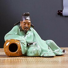 Skulpturen Statuen Dekoartikel Keramikfigur
