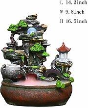Skulpturen Tischbrunnen,Tischplatte dekorativ