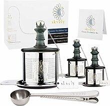 Skvely Luxus-Tee-Ei Geschenk-Set.