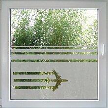Sky stripes Windowtattoo von Create&Wall - kindgerechter Sichtschutz