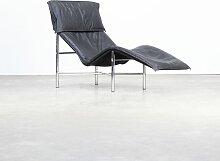 Skye Liegestuhl mit Lederbezug von Tord Björklund