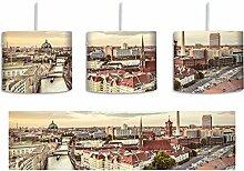 Skyline von Berlin inkl. Lampenfassung E27, Lampe