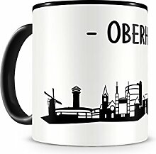 Skyline4u Tasse mit Oberhausen Skyline für Kaffee