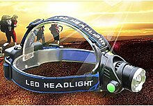 Skytower Super Hell LED Kopf Taschenlampe Lampe