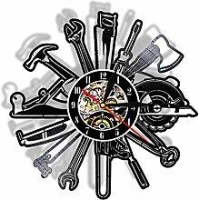 SKYTY Vinyl Schallplatte Retro-Uhr-Mechanische