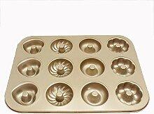 SKYyao Backblech,Gold Antihaft-Backblech Teller