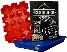 sl-Eisblock Getränkekühler Bierkühler Rot in
