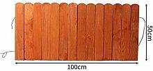 SL&ZX Indoor balkon zaun,Rustikale karbonisiertes holz zaun Gartenzaun Dekorative gartenzaun Mini holzzaun-N