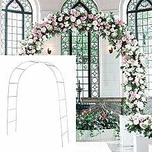 SLanC Metall-Gartenlaube für Hochzeiten, für