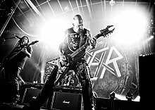 Slayer 33 Kerry King Tom Araya Gary Holt Paul Bostaph Great Rock Metal-Album Cover, Musik Best-Band Bilderrahmen für DIN A3, Poster-Prin